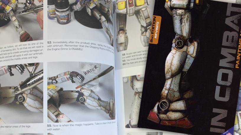 In Combat Painting Mechas Book Review